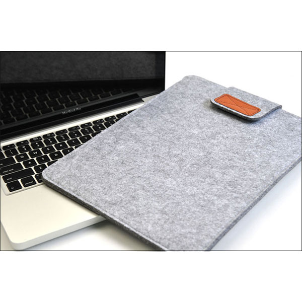 Soft <font><b>Sleeve</b></font> Felt Bag Case Cover Anti-scratch for 11inch/ <font><b>13inch</b></font>/ 15inch Macbook Air Pro Retina Ultrabook <font><b>Laptop</b></font> Tablet JLRJ88 image