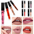 8 Colors Lip Gloss Fashion Matte Color Liquid Lipstick Hydrating Long Lasting Moisturizer Beauty Lip Liner Makeup