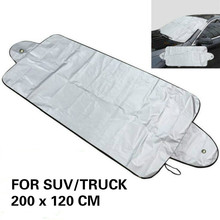 Universal Prevent Snow Ice Sunshade Cover Car Windshield Covers Protector Summer Sun Front Window Windscreen