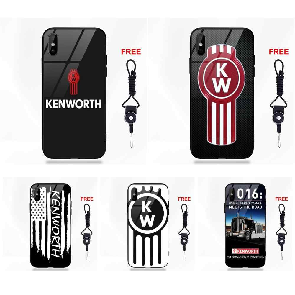 d4becf60c51 Vvcqod Famous Car Kenworth Truck Logo For Apple iPhone 5 5C 5S SE 6 6S 7