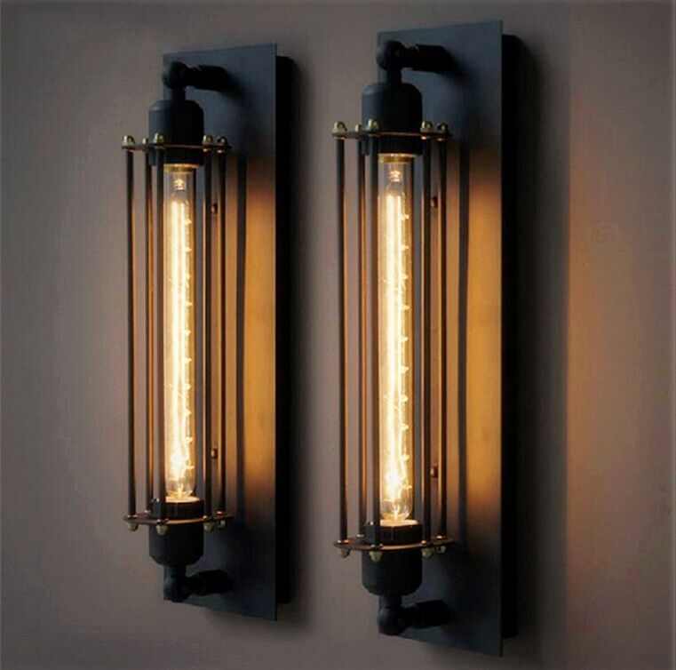 2015 hot sale e27 t300 vintage industrial black wall plate retro wall light rustic wall sconce cheap rustic lighting