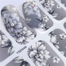 Get more info on the LCJ Nail Sticker Fantasy Colorful Designs Water Transfer Decals Sets Flower/Feather Nail Art Decor Beauty Tips