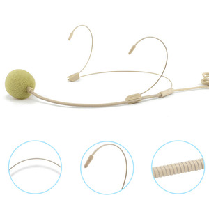 Image 5 - Professional Headworn 3.5mm Headset Wired Microphone Anti Interference Clear Sensitive UHF High Fidelity