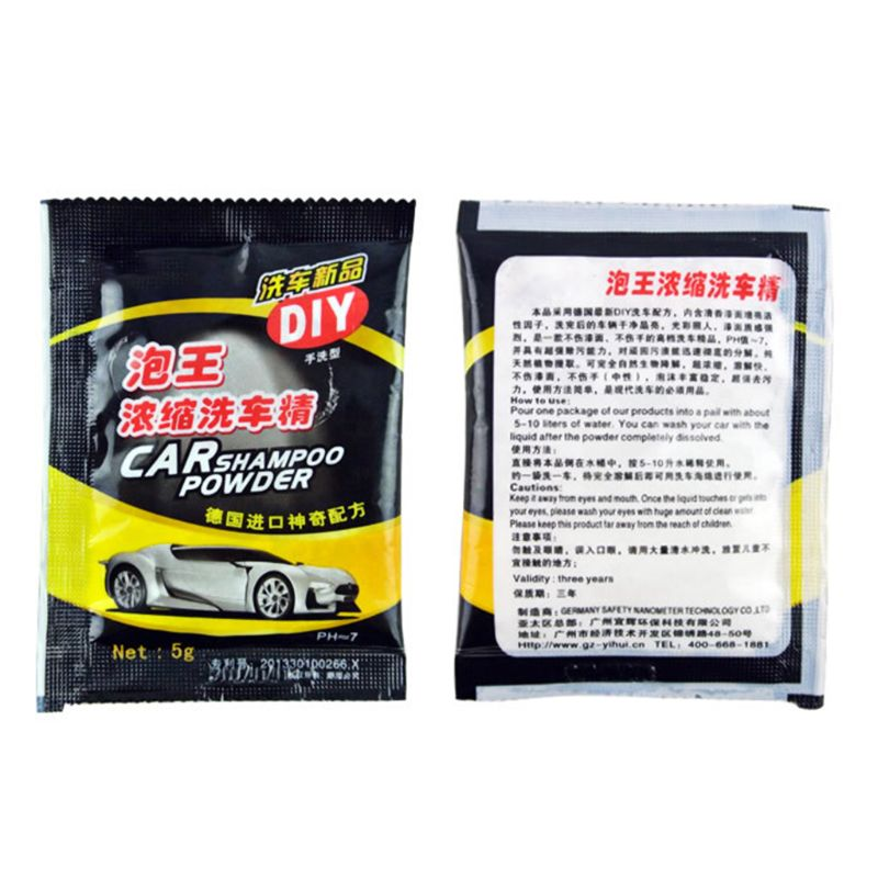 Image 5 - 5Pcs Powder Car Wash Shampoo Universal Cleaning Car Shampoo Multifunctional Cleaning Tools-in Car Washer from Automobiles & Motorcycles