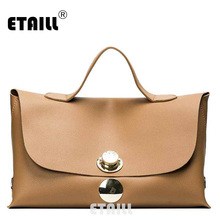 ETAILL 2017 Top Handle Fashion Women Handbag Famous Designer Brand Bags Pu Leather Totes Bag Vintage