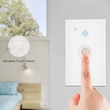 Standard Smart Wall Wifi Switch Three Mobile Phone Remote Control Intelligent Wireless Remote Control Voice Timer Switch