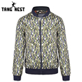 TANGNEST 2017 Men's Spring & Autumn Outwearing Casual Slim Fit Camouflage Jacket Hot Selling M-XXXL Asian Size Jacket MWJ1399