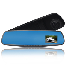 Original 2 8 Inch Mirror Car DVR Blackbox Mini Portable Blue Screen Dash Cam Car font