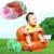 Banho do bebê Carrinho de Assento da Cadeira De Jantar Sofá Inflável Crianças Aprendem Banquinho Portátil