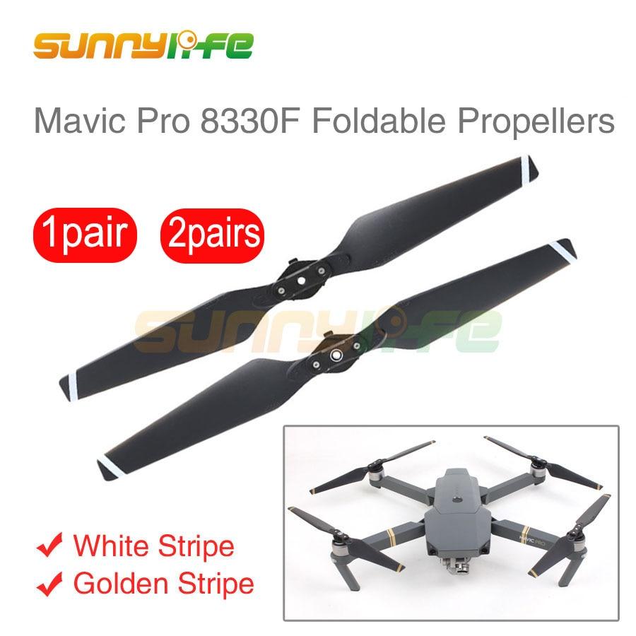 Sunnylife Quick-release Mavic vrtule skládací Prop 8330 čepele náhradní vrtule pro DJI Mavic Pro Drone