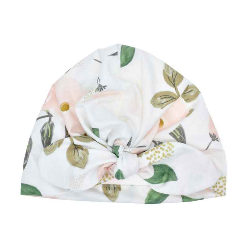 Sombrero de bebé de moda turbante sólido sombrero de Sol para niñas gorras elásticas 6 estilo gorra de bebé pajarita accesorios para bebés