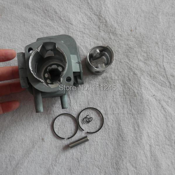 CYLINDER ASSY 34MM FOR Robin EC025 EC025G PST75H OHT750R 24.5CC HEDGE TRIMMER ZYLINDER HEAD PISTON KIT цена