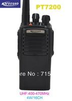 Kirisun PT7200 UHF 400 470MHz 4 Watts 16 Channel Professional Portable Two Way Radio Walkie Talkie Transceiver