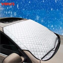 Зима Лидер продаж внедорожник 100 см * 147 см окна автомобиля снег Защита от солнца Тенты крышка авто окна Защита от солнца Светоотражающие Тен...
