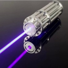 On sale High Powered Blue Laser Pointers 50000mw 50W 450nm Adjustable Focus Burning Match/Dry Wood/Candle/Black/Cigarettes+Glasses+Box