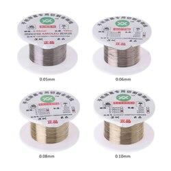 Linha de corte do fio do molibdênio do ouro da liga 100m display lcd reparo do separador da tela