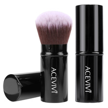 Acevivi Retractable Kabuki Brush Concealer Foundation Blusher Face Powder Bronzer Brush