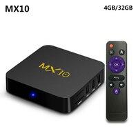 MX10 4GB DDR4 32GB EMMC Android 7 1 TV BOX RK3328 Quad Core KODI 17 4