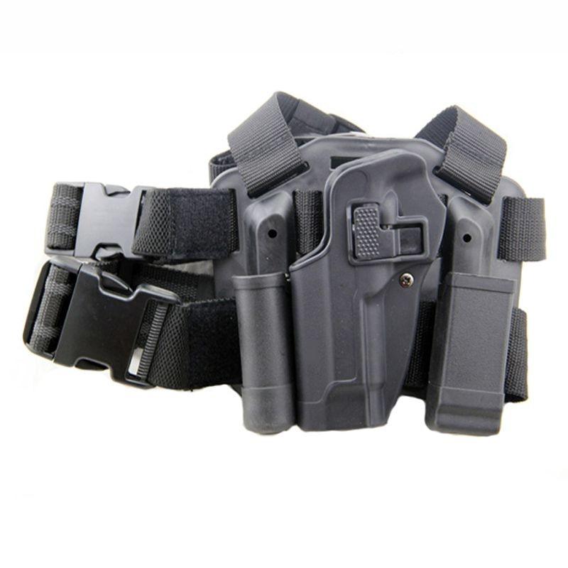acessórios caso pistola rápida gota arma perna