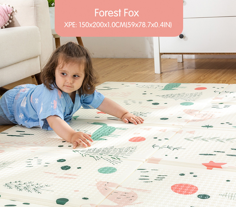 HTB1GjWOcwmH3KVjSZKzq6z2OXXaw Infant Shining Baby Play Mat Xpe Puzzle Children's Mat Thickened Tapete Infantil Baby Room Crawling Pad Folding Mat Baby Carpet