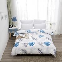 100% Cotton Duvet Cover Super King Size Bed Quilt Cover Case bedclothes cotton duvet covers housse de couette 220x240 cm