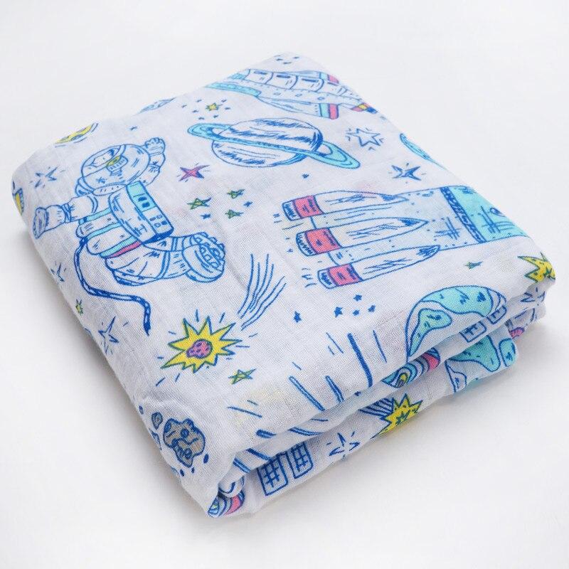 Новинка; хлопковые Супермягкие подгузники из муслина; детское одеяло; Банное полотенце; пеленка; аксессуары для детской кровати; детское одеяло для новорожденных - Цвет: Cartoon