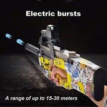 Graffiti Édition P90 Électrique Jouet Pistolet Assaut Sniper Arme Éclats Pistolet Soft Gun Balle de L'eau Drôle Extérieur Enfants Bébé Jouet