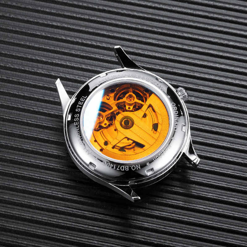 Bestdon Double Tourbillon montre pour hommes mode automatique montres mécaniques Phase de lune en acier inoxydable suisse marque de luxe
