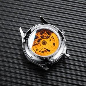 Image 5 - Bestdon メンズ腕時計自動機械式トゥールビヨンスケルトンのファッションは、男性スイス高級ブランドレロジオ masculino 7140