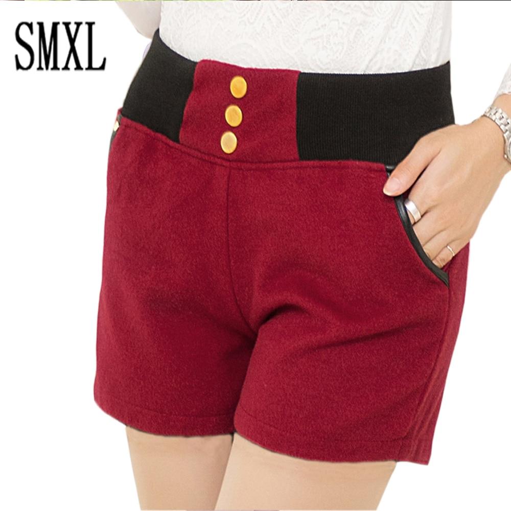 Popular Womens Elastic Waist Shorts with Pockets-Buy Cheap Womens ...