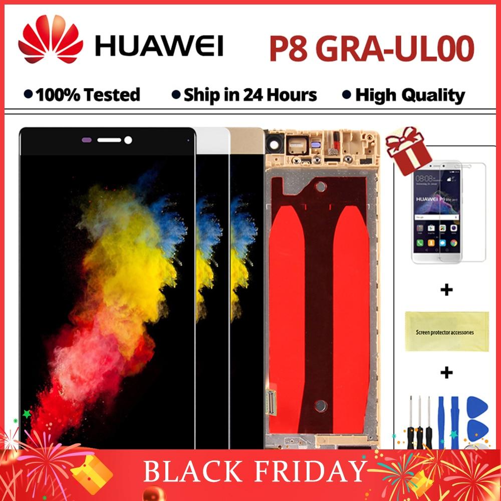 5,2 zoll P8 LCD Display Für Huawei P8 GRA_L09 GRA_UL00 GRA-L09 Touchscreen Telefon Lcds Digitizer Montage Ersatz Teile