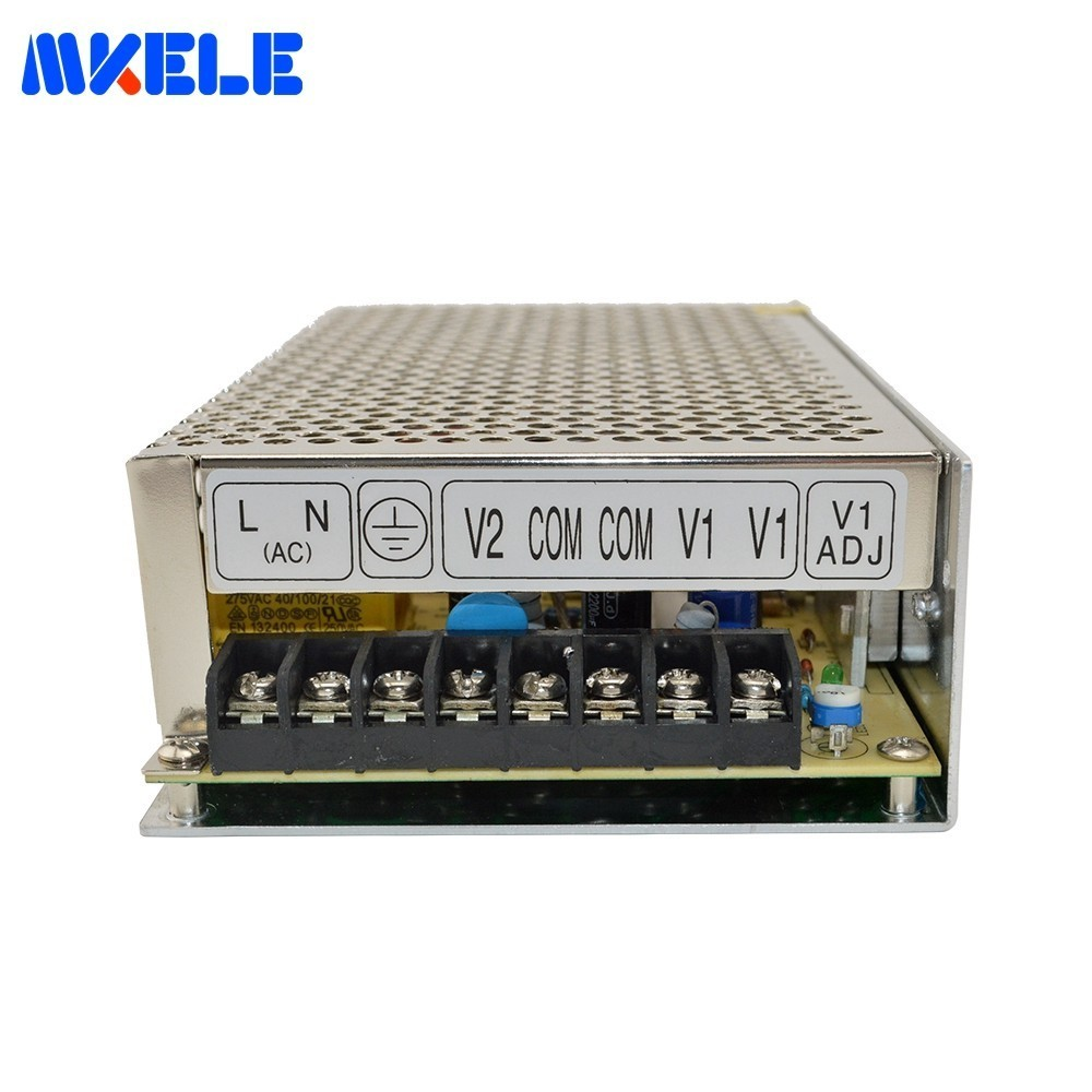 Low Price D-120B 120w 5V 6A <font><b>24V</b></font> <font><b>4A</b></font> Dual Output Switching Power Supply Double Output Voltage Transformer AC-DC Smps High Quality image