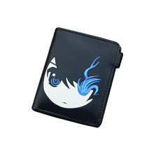 Adorkable Kuroi Mato Black Button Purse/Wallet of Anime Black Rock Shooter