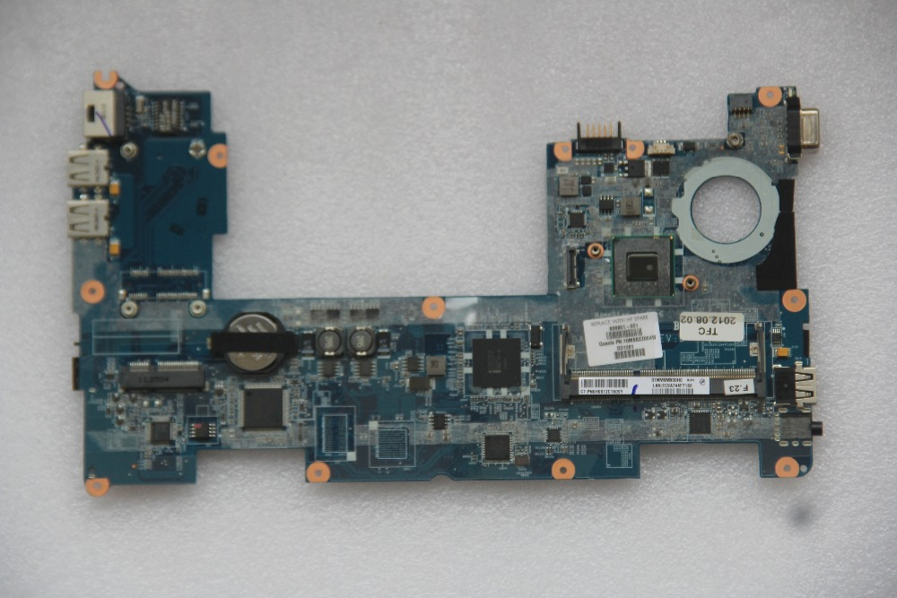 608951 001 For HP MINI 210 Laptop motherboard DANM6DMB6D0 with N455 CPU Onboard DDR3 fully tested work perfect