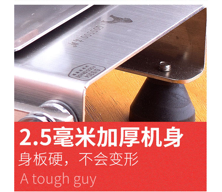 304 stainless steel automatic push mutton roll potato slicer household beef meat slicer medicinal herbs gelatin slicer slicer 17