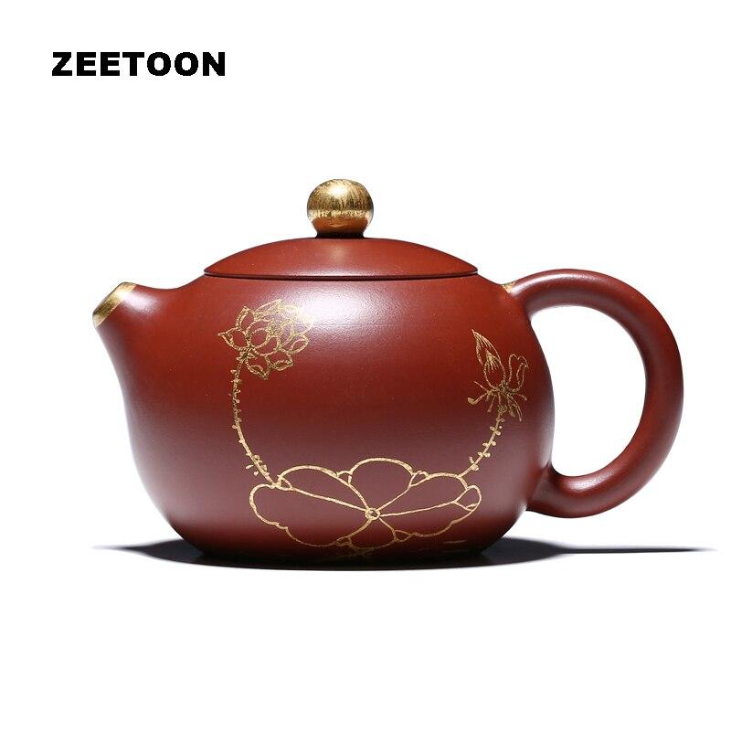 100 мл натуральная фиолетовая глина Исин чайник мастер ручной работы Китай здоровья чайный набор кунг фу чай, придающий красоты горшок Dahongpao