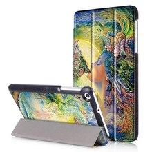Pill Case + Glass Display Protector for Huawei Mediapad T1 7.zero T1-701 T1-701U T1-701UA Cowl