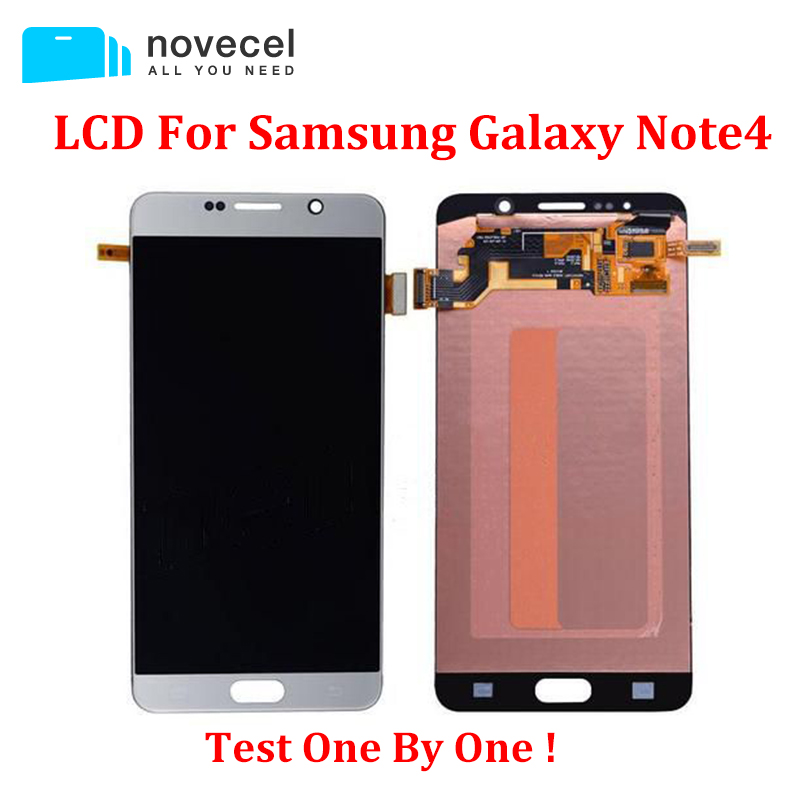 LCD Screen Display with Touch Digitizer Panel for Samsung Galaxy NOTE4 N910 N910F N910A N910V N910P N910T N910R4 N910W8 100% brand new lcd digitizer touch screen display assembly for samsung galaxy note 4 n910 n910a n910v n910p n910t black or white
