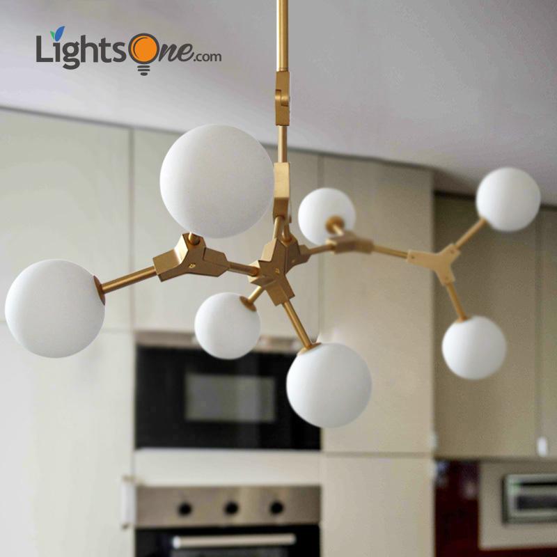 Nordic Living Room Pendant Lamp American Art Restaurant Bar Counter Bedroom Iron Tree Stick Magic Pigeon Pendant Light