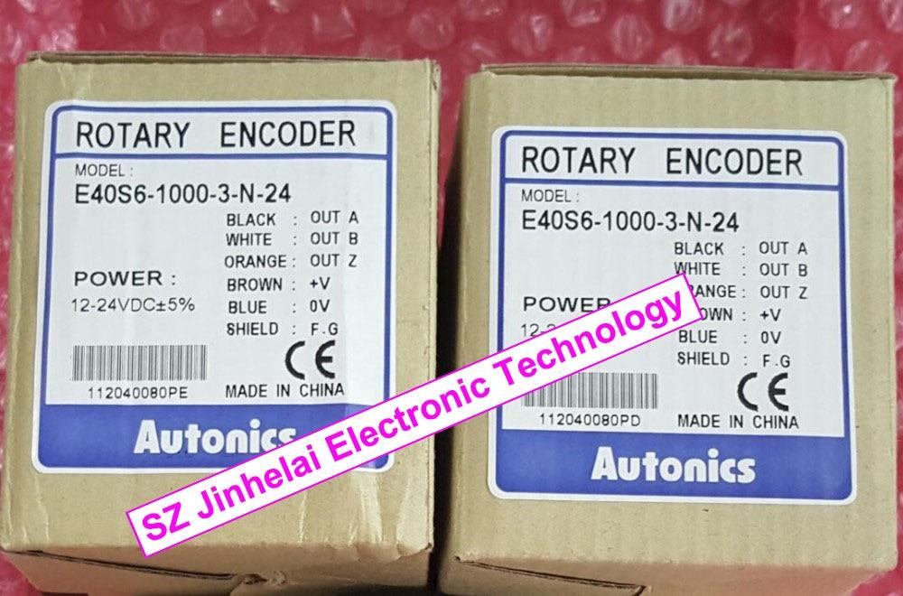 E40S6-1000-3-N-24  New and original Autonics  INCREMENTAL ROTARY ENCODER 100% new and original e40s6 600 3 n 24 autonics encoder incremental rotary encoder 12 24vdc