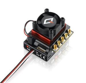 Image 3 - Оригинальный HOBBYWING QUICRUN 10BL120 Sensored 120A 2 3 S Lipo регулятор скорости бесщеточный ESC для 1/10 1/12 RC автомобиля