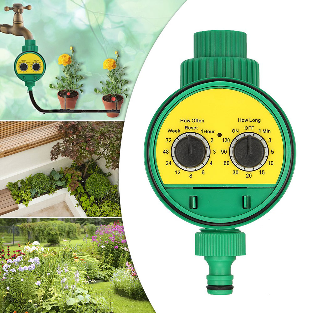 Garden Watering Timer  Automatic Electronic Water Timer Home Garden Irrigation Timer Controller System Irrigator