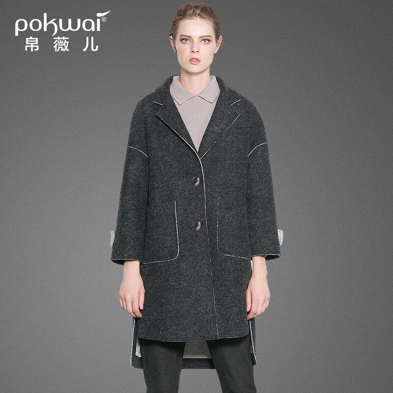 Popular Women Grey Coat-Buy Cheap Women Grey Coat lots from China ...