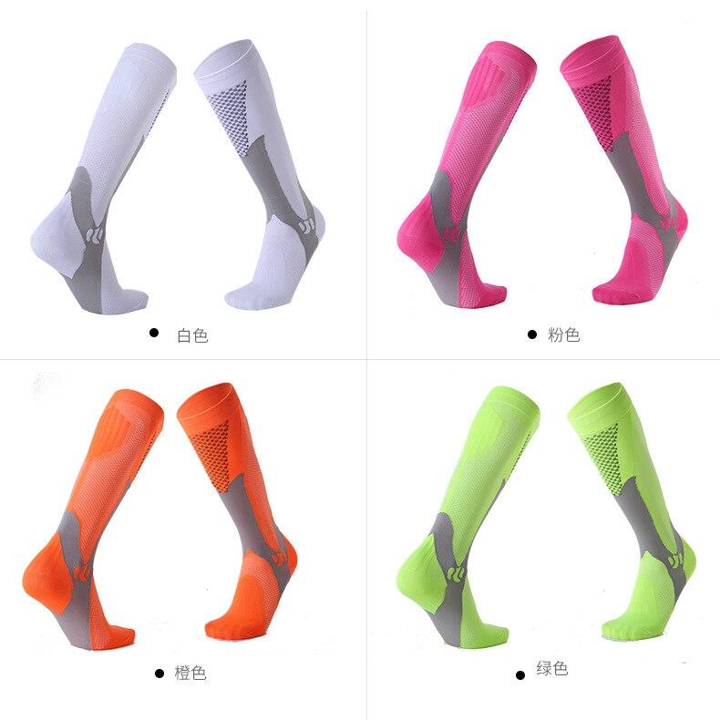 Long Tube Compression Socks Men And Women Marathon Outdoor Sports Socks Adult Running Riding Compression Socks Compression Socks