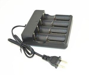 Image 3 - Chất lượng cao EU/US Cắm Đa Chức Năng Battery Charger 4 Slots Phổ đối 18650 14500 16340 26650 Li Ion Pin