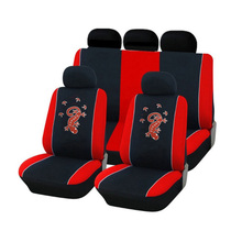 Carnong car seat cover cartoon universal set car-sear-cover-set light weight protective seat cover car interior accessory auto