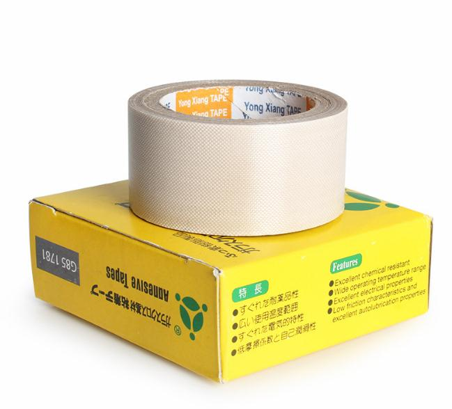 10pcs 0.13mm Teflon High Temperature Heat-Resistant Adhesive Tape PTFE fiber cloth duct wear-resistant anti-static adhesive tape
