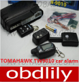 2016 Newest Two way car alarm system TOMAHAWK TW9010 Russian version LCD remote engine starter free shipping