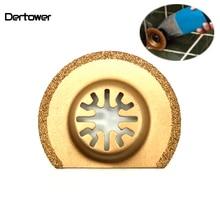 1pc 63mm Diamond Titanium Saw Blade Oscillating Multi Tool For universal treasure machines Fein Bosch Dremel TCH Power Tool