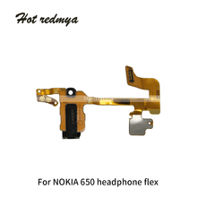 Earphone Jack Flex Cable Original For Nokia Lumia 650 950 950 XL Earpiece Ribbon Audio Jack Replacement Mobile Phone Parts flat cable for nokia 8800 arte cell phone flex ribbon with components flex cable